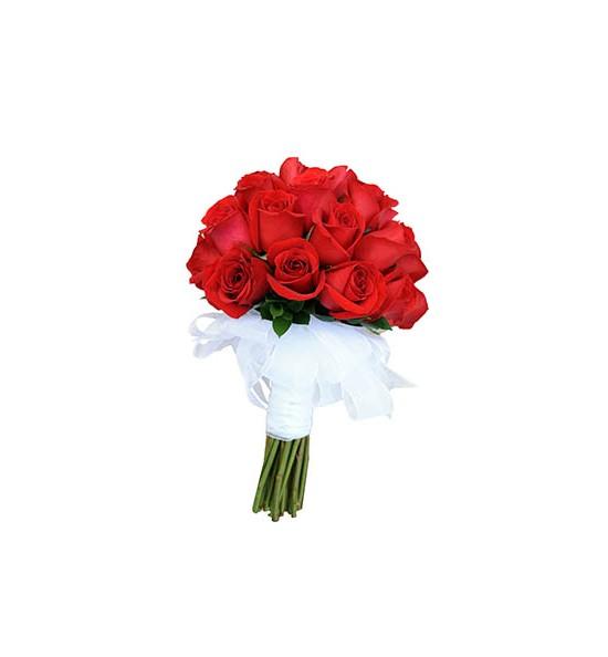 Buchet De Trandafiri Rosii Mireasa